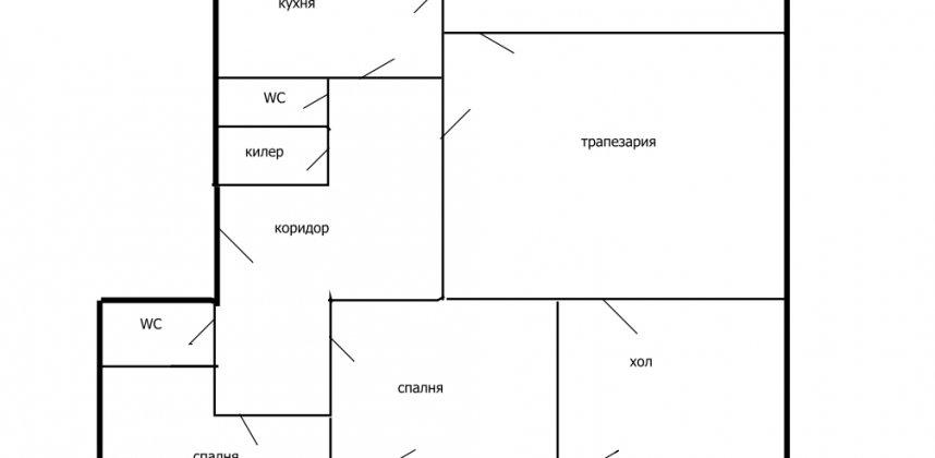 Тристаен апартамент в кв. Люлин 1